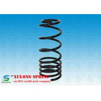 China Black Alloy Steel Pigtail Rear Suspension Coil Springs For Cars / Racing wholesale