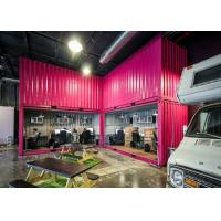 China Recycled Eco - friendly 40 Feet Modified Combined Containers For Stylish Open Office wholesale