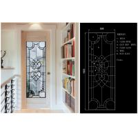 China Solid Flat Tempered Decorative Glass Windows Private Imports Series Finely Detailed wholesale