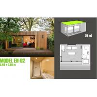 China Soundproof Prefabricated Garden Studio / Prefab Garden Shed For Garden Music Studio on sale