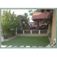 China Outdoor Sports Flooring Playground Synthetic Grass / Safety Artificial Turf For Gardens wholesale