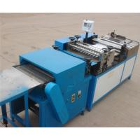 China Auto ECO Filter Pleating Machine With Paper Pre - Slitting , 420mm Width wholesale