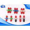 China Type coupleur de câble optique de fibre, adaptateur de St D de duplex de LC pour la télécommunication wholesale