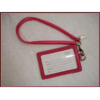 China work ID card holder metal clip lanyard on sale