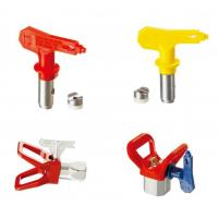 China Blue / Red / Yellow / Black Spray Tips Airless Sprayer Accessories With OEM Service wholesale