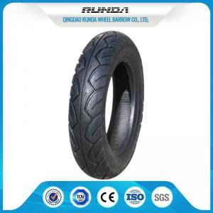China Hard Cross Slip Motor Cycle Tires 8PR , Racing Motorcycle Tires Natural Rubber wholesale