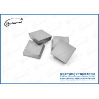 45 Degree Tungsten Carbide Inserts , Carbide Cutting Inserts For CNC Machining Process