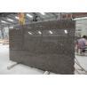 China Standard Size Baltic Brown Granite Kitchen Slab , Heavy Duty Stone Granite Slabs wholesale