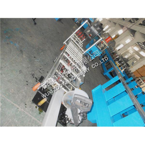 aluminum sheet portable downspout roll forming machine with fly