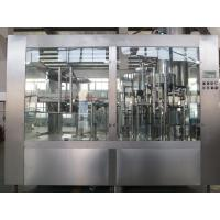 China Rotary Automatic Bottle Washing Filling And Capping Machine For 200ml-5000 ml PET Bottles wholesale