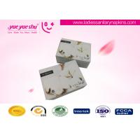 China Bio Herbal Medicated Lady Anion Napkin Pads White / Custom Color Available on sale