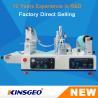 China 1200×620×550mm Size Lab Continuous Hot Melt Coater , Hot Melt Coating Machine Digital Control wholesale