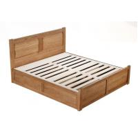 China Big Capacity Solid Wood Bed Frame With Drawers Storage Environment - Friendly on sale