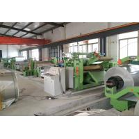 China 0.4 - 3.0 mm Stainless Steel Cut to Length Machine Automatic Cut To Length Line on sale