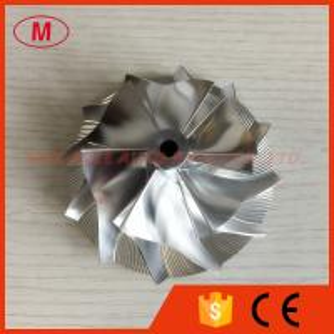 T04E 6+6 blades 62.80/88.00mm turbocharger billet/milling/aluminum 2024 compressor wheel for racing