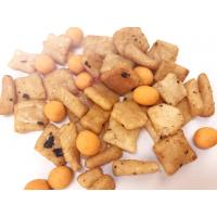 China OEM Rice Crackers Spicy Flavor Healthy Snack Mix Foods NON-GMO Free From Frying wholesale