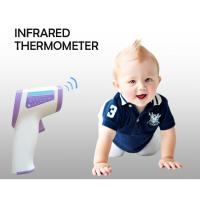 China LCD Digital Medical Grade Forehead Infrared Thermometer Baby 3 Colors Backlight wholesale