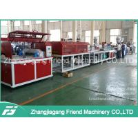 100-400kg/H Capacity WPC Profile Extrusion Line For Door Frame Making