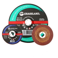 China 4 In X 1/4 In X 5/8 In Resin Bonded T27 Grinding Wheel For Polishing Stainless Steel wholesale
