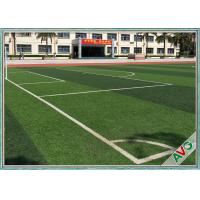 Outstanding Smooth Football Artificial Turf / Grass 100% Recyclable Material