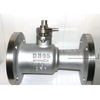 China Cast Steel Ball Valve With Anti - Static Device CL150-600 API 6D 608 Design on sale