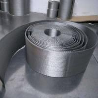 China Stainless Steel Reverse Dutch Weave Filter Cloth Belt Wire Mesh 316L For Oil And Mining wholesale