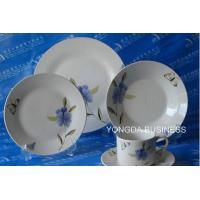 China ceramic dinner set,  plates and dishes,  24 pieces dinnerware wholesale