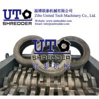 automatic car tire shredder/ truck tyre shredder, waste tire shredder, double shaft shredder/ tire reycling machine