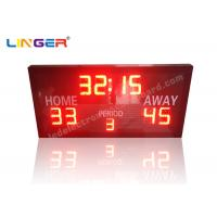 China Remote Controller With Simple Function and Ultra Thin Led electronic Basketball Scoreboard wholesale