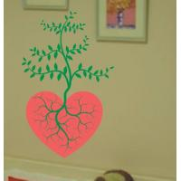 China Large Wall Flower Stickers G135 / Design Wall Sticker wholesale