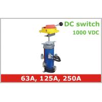 China Professional Isolator Power Selector Switch 250A 1000V DC Solar PV System on sale