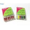 China Hand Use Dental Endo Files , NITI Alloy K Files Endodontics Pack 6 Pcs / Box wholesale
