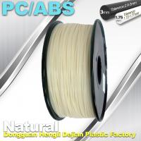 China High Toughness 1.75mm 3D Printer Filament PC / ABS Filament 1.3Kg / Roll wholesale