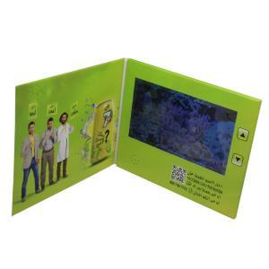 Buy cheap Placa de vídeo do LCD do tamanho A5, cartões video do LCD da bateria 500mA 7 from wholesalers