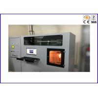 Buy cheap Building Material Heat Release Rate Flammability Test Equipment / Cone Calorimeter ISO 5660-1 from wholesalers