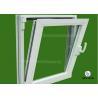 China Two Way Opening Double Glazed Tempered Aluminium Tilt Turn Windows wholesale