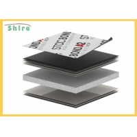 China Aluminium Composite Panel 60um Protective Adhesive Plastic Film on sale