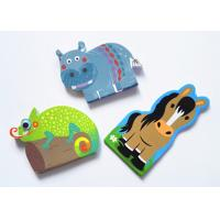 China Promotional Custom Sticky Notes Animal Shaped C2S Glossy Art Paper Cover on sale