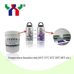 China Screen Printing Irreversible Temperature Sensitive Printing Ink on sale