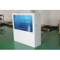 China 43 Inch Aluminium Alloy Transparent LCD Touch Screen , Transparent LCD Display Box wholesale