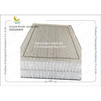 China Mattress Individually Pocketed Coils With Double Frame Reinforcement OEM Service wholesale