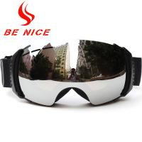 China Safety Spherical Snow Goggles Interchangeable Lenses  , Anti Winds And Keep Warm wholesale