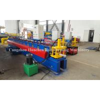 China PLC Computer Control Shutter Door Automatic Roll Forming Equipment 8 - 10 m / Min wholesale
