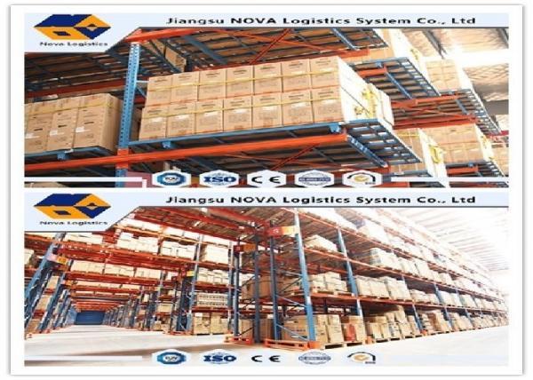 Quality Обычные выборочные системы шельвинг склада, промышленное сверхмощное хранение вешалки паллета for sale