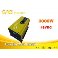 China 3000w off grid solar inverter single phase dc to ac pure sine wave 220v ac 48v dc converter with charger wholesale