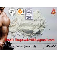 China Synthetic Anadrol Anabolic Androgenic Steroids 434-07-1 Methandienone Hormones Powder wholesale