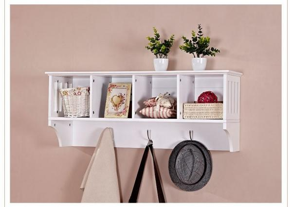Quality Wall Mounted Display Rack Shelves, Hanging Display Rack For Living Room for sale