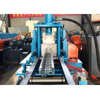 China Storage Shelf Beam Rack Cable Tray Roll Forming Machine Hydraulic Mould Cutting wholesale