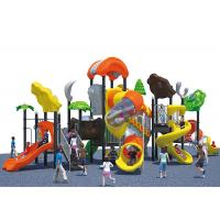 Food grade LLDPE Plastic colorful interesting kids outdoor playground equipment for sale