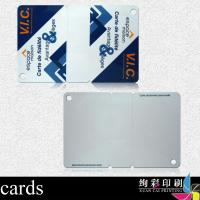 China PVC RFID Blank Dual Interface Smart Card With Magnetic Stripe wholesale